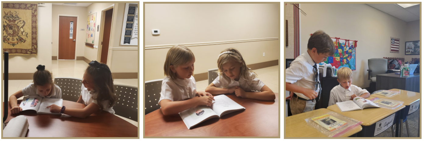 Read more about the article First & Third Grade Book Buddies